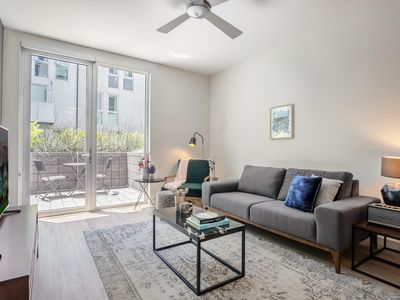Photo for Ample SoMa 2BR w/ Gym + Roofdeck near Pinterest HQs by Blueground