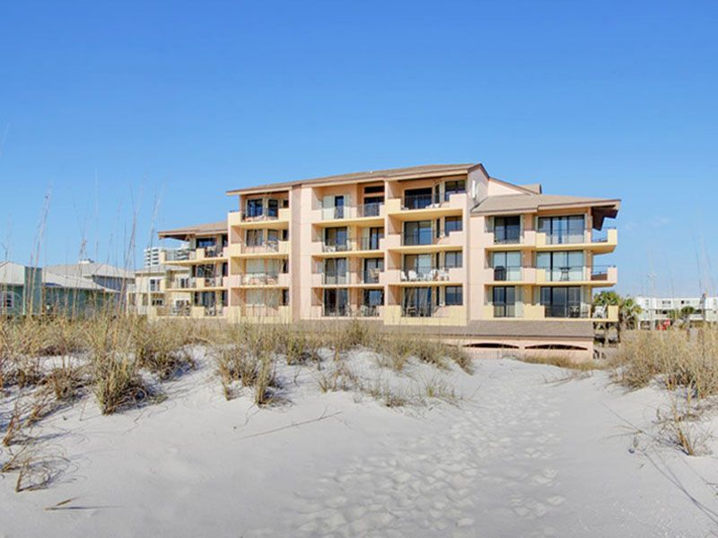 Gulf Winds Condo Rental Private Balcony Overlooking The Beach Community Pool Pensacola