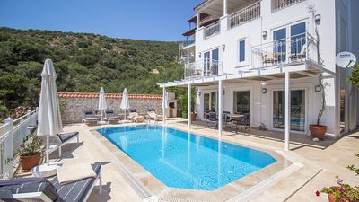 Photo for Villa Leda, Situated at 150 metres from the shores of the Mediterranean