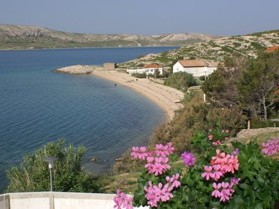 Photo for Two bedroom apartment with terrace and sea view Zubovići (Pag) (A-4130-f)