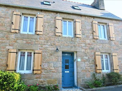 Photo for Renovated Breton house, well equipped, with WIFI in TREGASTEL