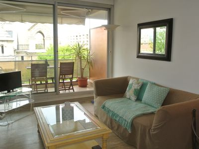 Photo for Charming T2 with garage near the beaches and the city center