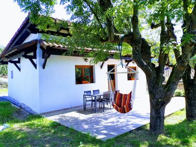 Photo for Rural house with garden and terrace between two natural parks.