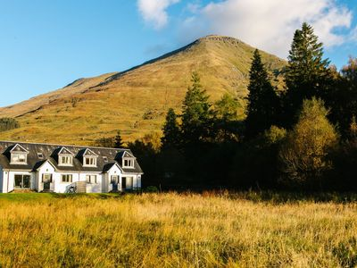 Photo for 4 star, 4 bedroom, 3 bathroom Scottish cottage with sensational loch and mountain views