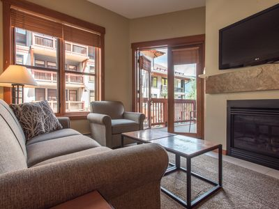 Photo for New Village Ski-In/Out condo in the heart of Copper. Complimentary WiFi and P