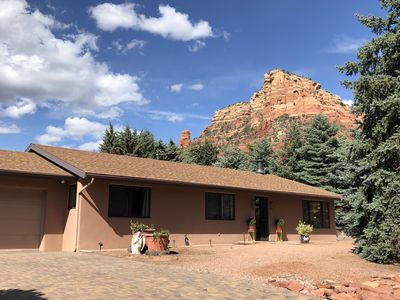 Photo for Serene, Sedona Home, 2 King beds 3-4 Bdrm, 2 bth Scenic Setting Chapel Area