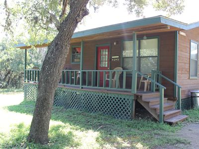 Photo for 3BR Cabin Vacation Rental in Leakey, Texas