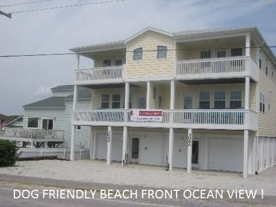 Photo for Brand New Dog Friendly, Beach Front -Ocean View, Rental W/ Private Beach Access