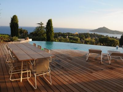 Photo for Villa with exceptional views of the sea and Agay