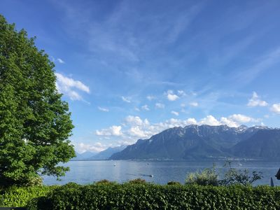 Photo for Beautiful and Modern Apartment - Vevey (Corseaux)