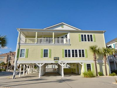 Photo for Tropical Breeze, Luxury Rental, Steps from Beach, Game Room, Shared Pool and Hot Tub