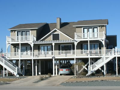 Photo for Private gated community 4 bedroom 2nd row with views and easy beach access