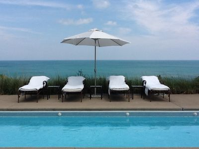 Photo for 33% Off Late Summer Weeks * Lake Michigan Beach Plus Private Heated Pool