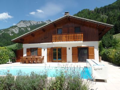 Photo for House with comfortable furnishings in the Porte du Soleil ski area.