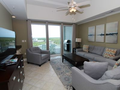 Photo for Wharf Resort 916- Bay Views with Coastal Interior & Free Water Park Admission