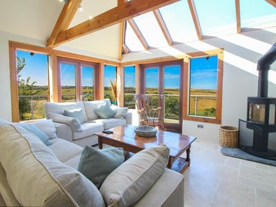 Photo for Situated close to the south-west Cornwall coast, with views down a rolling valley towards the sea
