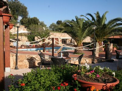 Photo for House with swimming pool,  in 3 hectares of Mediterranean scrub and fruit trees.
