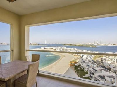 Photo for Awesome Sea View 01 BR Apartment in Al Khudrawi- Palm Jumeirah
