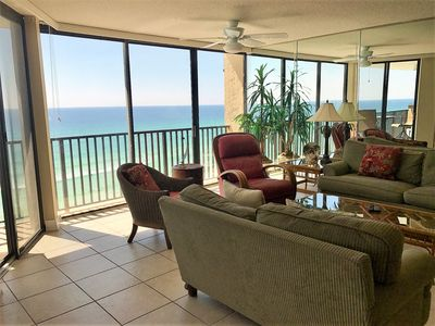 Photo for Beautiful Beachfront Condo w/View of Gulf of Mexico, Pool, Beach, & More