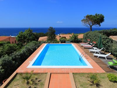 Photo for Villa Adriana - Private pool 5 x 10 m, air conditioning, 300 m to the sea