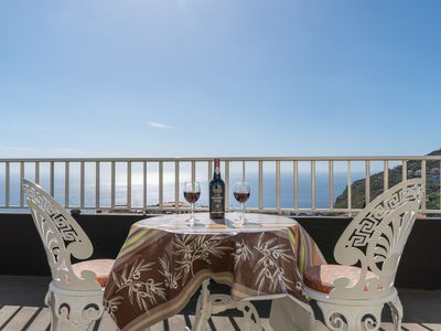 Photo for Apartamento Teixeira 1 magnificent views over sea and the mountains