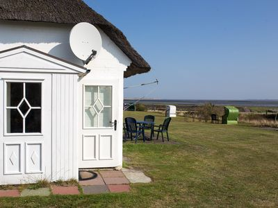 Photo for Holiday apartment for two in a traditional Frisian thatched roof house in Norddo
