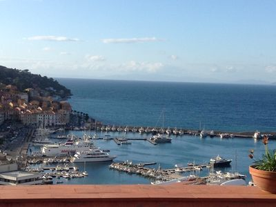 Photo for 2BR Apartment Vacation Rental in Porto Santo Stefano, Toscana