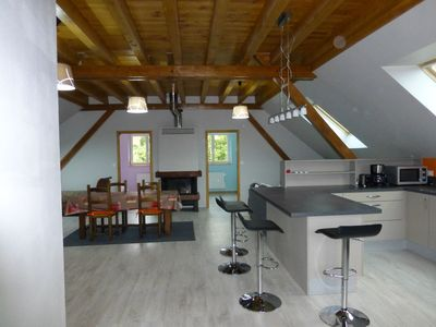 Photo for Spacious, quiet, with garage on the wine route, near Strasbourg, Obernai
