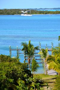 Dock shared by Crystal Waters and Crystal Villa guests