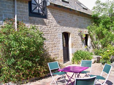 Photo for Gite, 750m from the beach, in a renovated farmhouse in the heart of the Gulf of Morbihan