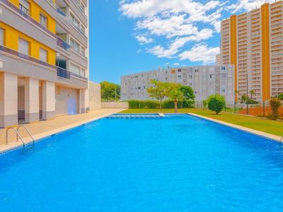 Photo for Apartment 1.4 km from the center of Calp with Internet, Pool (686235)