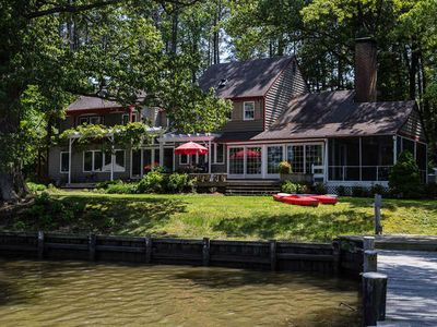 Photo for Chestertown Tranquil Waterfront with Pool and Kayaks