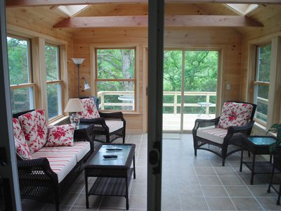 Photo for Quiet, comfortable and conveniently located......and dog friendly!