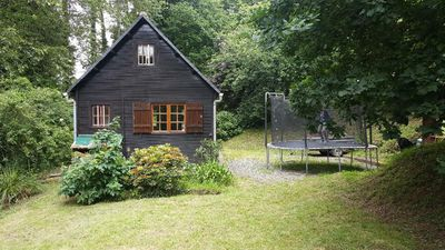 Photo for Chalet full nature 2 km from the beach Bréhec