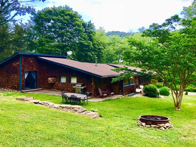 Photo for NEW! Magical home on 18 acre farm minutes from Asheville
