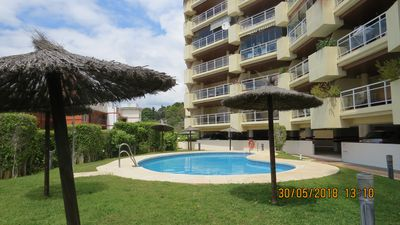 Photo for Ref: 295 - Luxurious 2 bedroom apartment with pool, 2 minutes from the beach