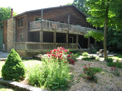 Peace and Quiet Duplex #2 - 2 BR 1 BA - sleeps 8 - Quiet Peaceful Wooded Area