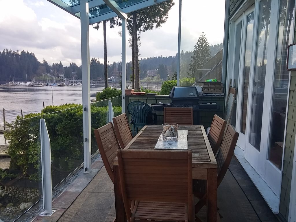 Waterfront Home In Deep Cove Village