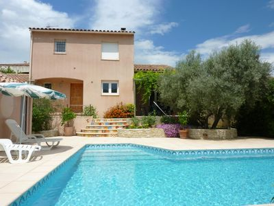 Photo for Villa with pool near Montpellier