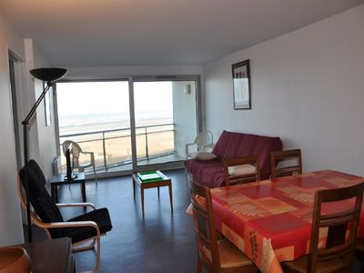 Photo for Large apartment F2 of 65 m² Seafront