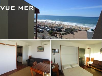 Photo for Beautiful renovated studio for 2 people 50 m from the beach in Lacanau Ocean
