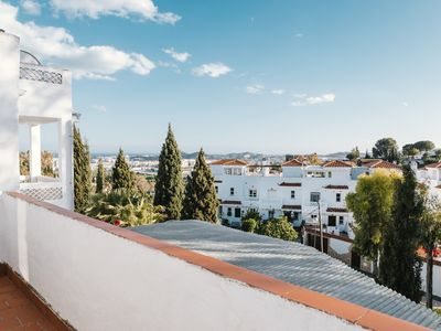 Photo for Elevated Terraced House With Garden & Views Over Fuengirola
