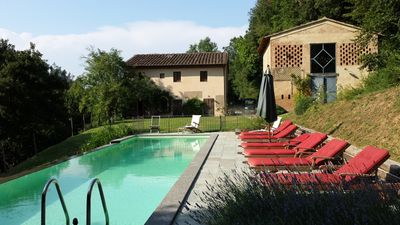 Photo for Villa with Private Pool And Garden, nestled in the Tuscan landscape