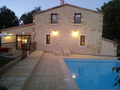 Photo for Roumens: HOUSE OF CHARACTER-Private heated pool (May 28-Sep 15)