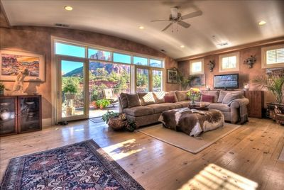 Spacious Great Room with Large Private Outdoor Deck and Stunning Views