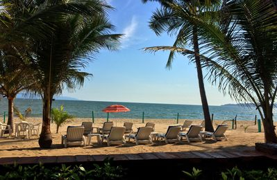 Photo for Bucerias~Beachfront~OCEAN/BEACH VIEW from PATIO & Inside~ GREAT LOCATION!
