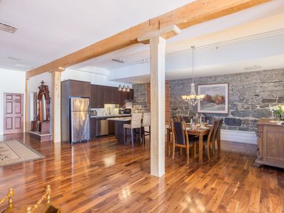 Central Old Quebec 3 Bedroom Spacious Condo with View