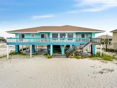 Photo for Ocean Front Home with Expansive Deck and Covered Event Area!