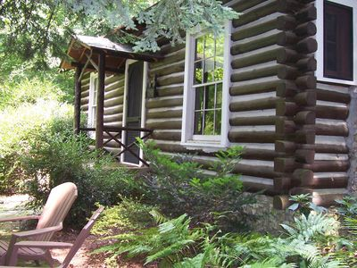 Photo for Dog Trot Cabin: Secluded Retreat within city limits