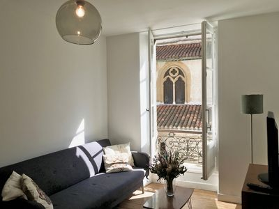 Photo for Txomin - Appt T2 Bayonne Center - Very close to the train station and all shops
